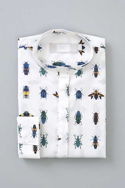 GRANDAD COLLAR - JEWEL BEETLE