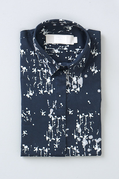 INK SPLATTER - NAVY